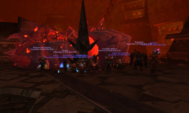 Hell Was Full vs. Magmaw